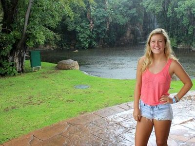 For ACC student Clare, Colorado is nice but South Africa beckons