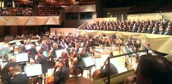 The Colorado Symphony at the Denver Center for Performing Arts.