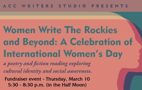 ACC's Writers Studio presents: Women Write The Rockies and Beyond, March 10th