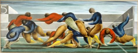 Football Abstraction, 1932