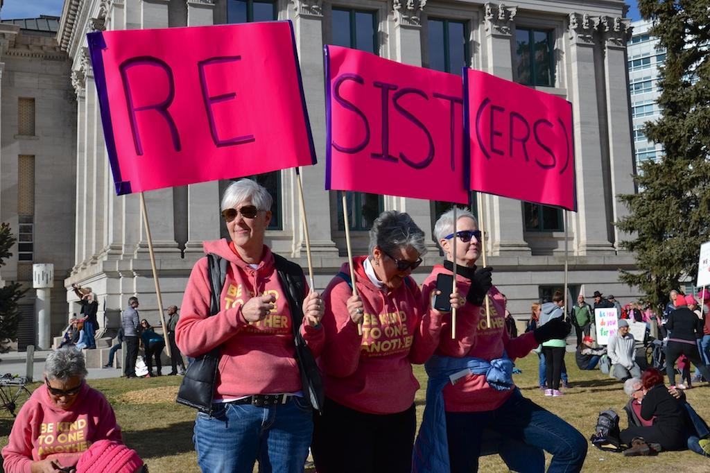 Image via Nico Danks, Women's March 2018, Denver CO.