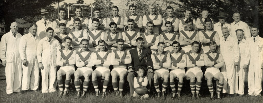 Ararat Football Club 1955