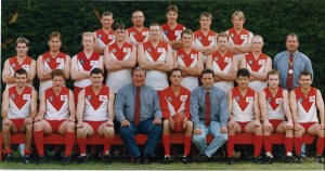 Ararat Football Club 1999 Reserve Premiers