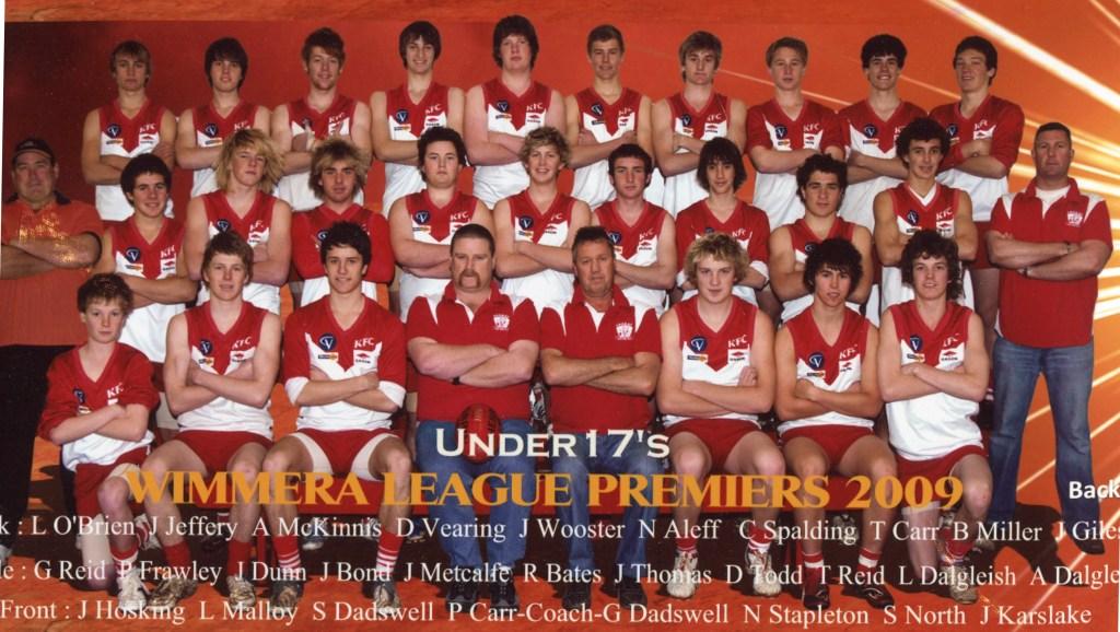 Ararat Football CLub 2009 U/17 Premiers