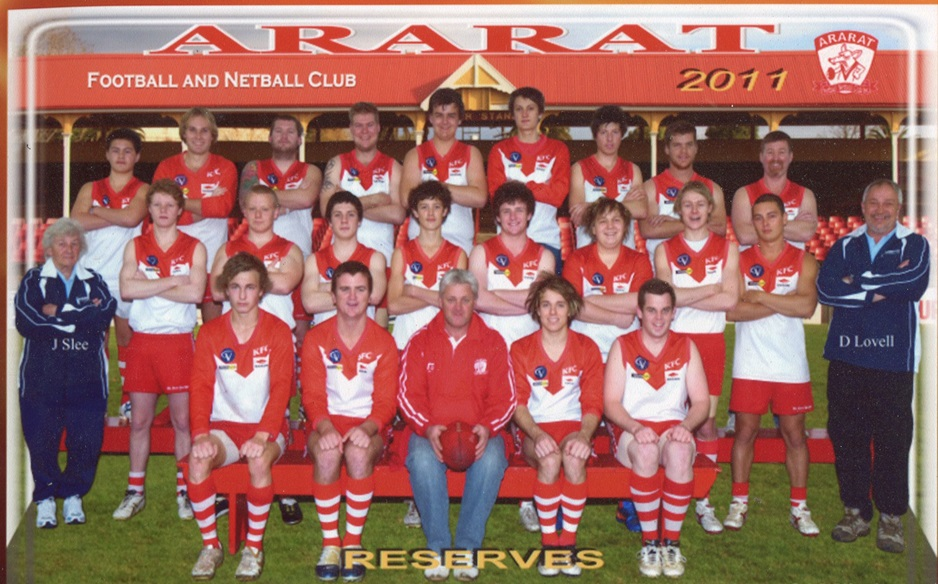 Ararat Football Club Reserves 2011