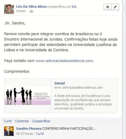 X Encontro Internacional de Juristas