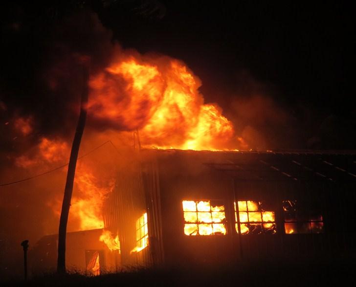 Polícia Civil investiga incêndio em casa