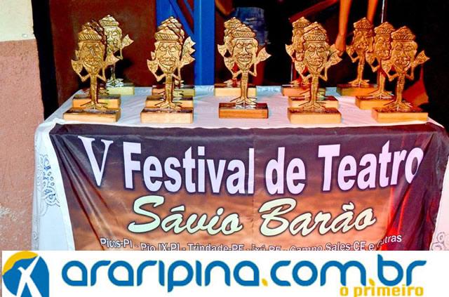 Grupo Teatral de Trindade é premiado no Piauí