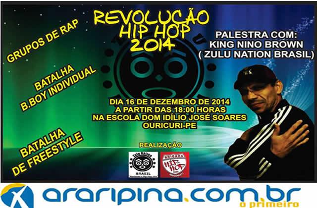 Ouricuri recebe um dos percussores do Hip hop no Brasil