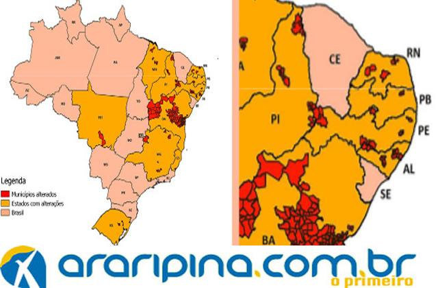 Araripina e mais doze cidades mudam oficialmente de tamanho no Pernambuco