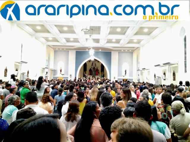 Reabertura da Igreja Matriz de Araripina reúne milhares