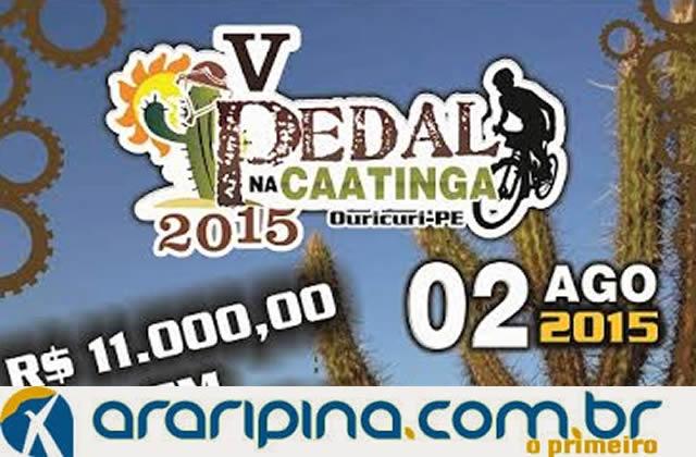 Inscrições abertas para o V Pedal na Caatinga em Ouricuri PE