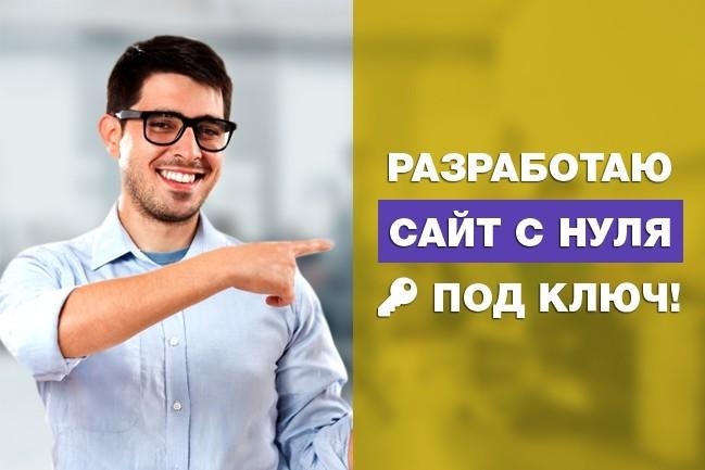 Современный и адаптивный сайт в Туркменистане на CMS WordPress