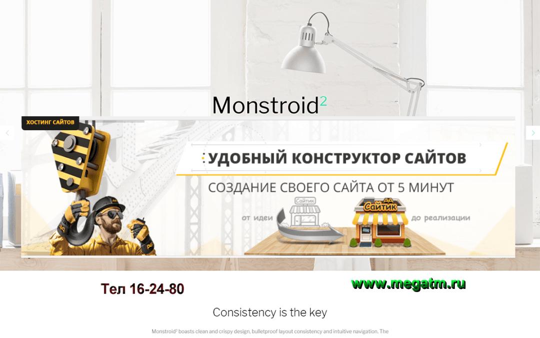 Интернет-маркетинг с сайтами в Туркменистане на МОНСТРОИД