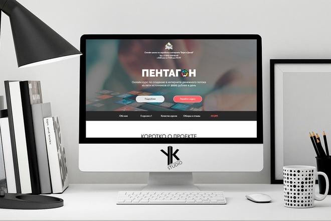 Создадим лендинг ПОД ВАШ бюджет, крутой и стильный дизайн 10