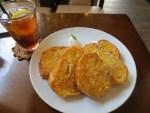 フレンチトーストに惚れた  グリーンカフェ (green caffe) 松山市北久米