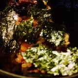 土鍋で炊いた飯。