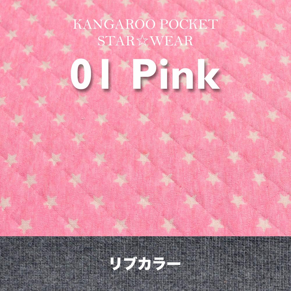 「犬服新色登場」一番シンプルな配色と、個性的な配色 カンガルーポケットのスター☆ウエア