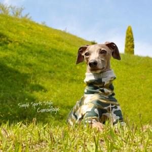 泥んこになるまで、いっぱい走ろう♪芝だらけになるまで、いっぱいゴロゴロしよう♪|Simple Sports Style Camouflage(迷彩)