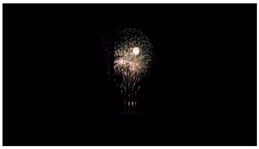 「淡路島の高田屋嘉兵衛まつり」淡路島の田舎ならではの静かな花火大会