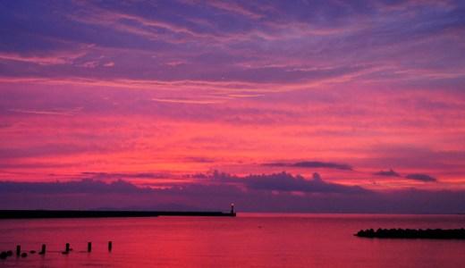 「淡路島の夕焼け」たった10分の景色の中に。感動は心の栄養です。