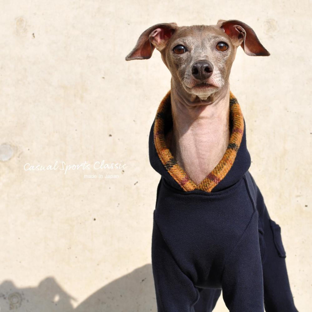 イタグレ服、ミニピン服、ウィペット服、サルーキ服、犬服・犬寝袋・雑貨の通販||Casual Sports Classic|選べる4タイプ+ポケット付き