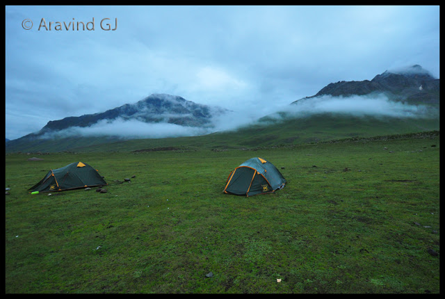 Kashmir Great lakes trek – Crossing treacherous Gadsar