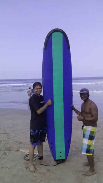 Bali surfing experience