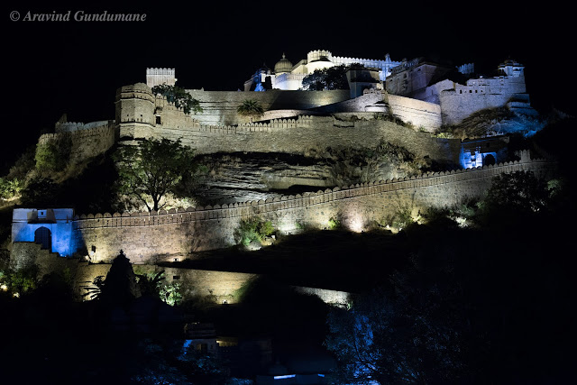 Sound and Light show in Kumbhalgarh Fort