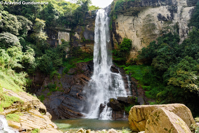 Waterfalls between Kandy and Nuwara Eliya