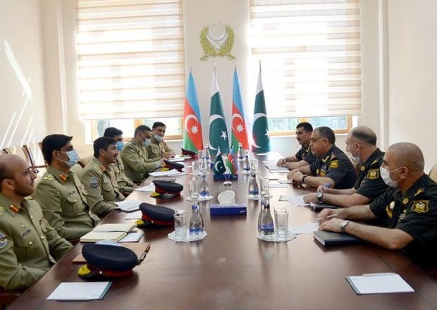 Azərbaycan və Pakistan hərbçiləri əməliyyat planlaşdırmasını müzakirə etdi 09 İyun 2021