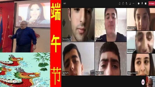 ADU-da Çin Əjdaha qayıq bayramı qeyd edilib 10 İyun 2021