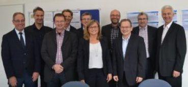 """AfM-Arbeitskreis """"B-to-B-Marketing / Vertrieb"""": Teilnehmer der 1. Arbeitssitzung an HdWM Mannheim (Foto: Motzko)"""