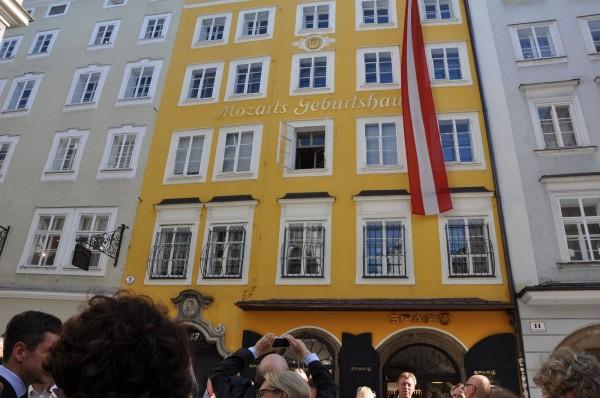 Stadtführung Mozarts Geburtshaus