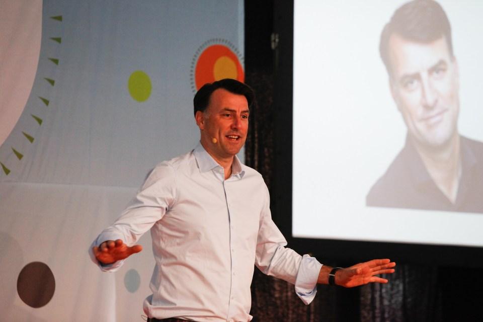 Mikael Kamber på Arbejdsglæde Live! 2015