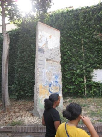 Berlin Wall in the Vatican state, 2009