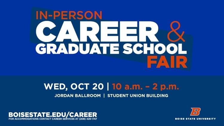 Career and Graduate Fair Ad 2021