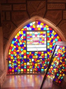 Moussa Castle colorful window