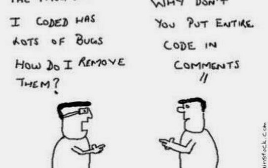 Code comments best practices