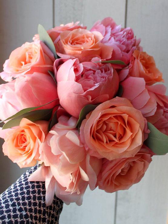 bouquet de mariée - Passiflore artisan fleuriste
