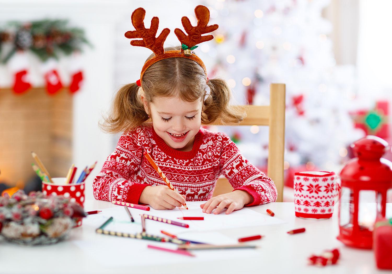 Télécharge ta lettre au père Noël à colorier !