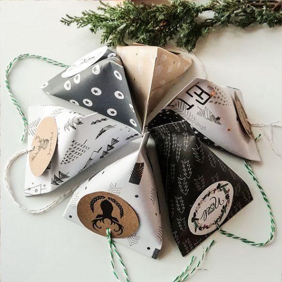 Berlingot de Noël - série grise