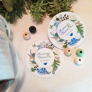 étiquettes hortensia