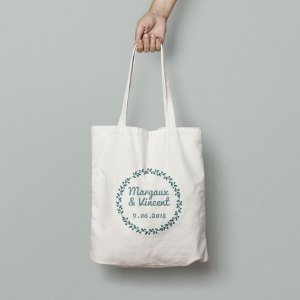 totebag Mariage les oliviers