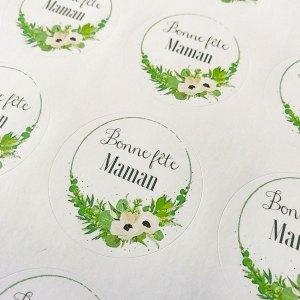 stickers fête des mères