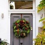 inspiration couronnes de porte de Noël