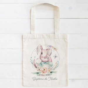 mini tote bag Lapin