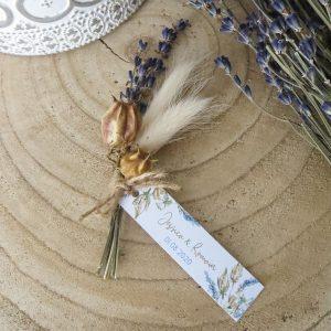 Bouquet mariage Lavande