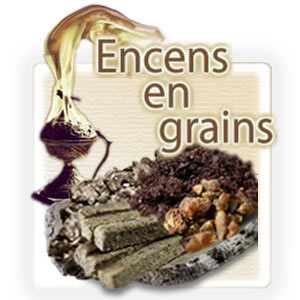 Encens en grains