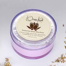 "Crème ayurvédique""Protectrice Santal-Olive-Rose"""